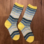 Yellow Submarine Socks