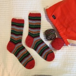Mikey's Striped Socks